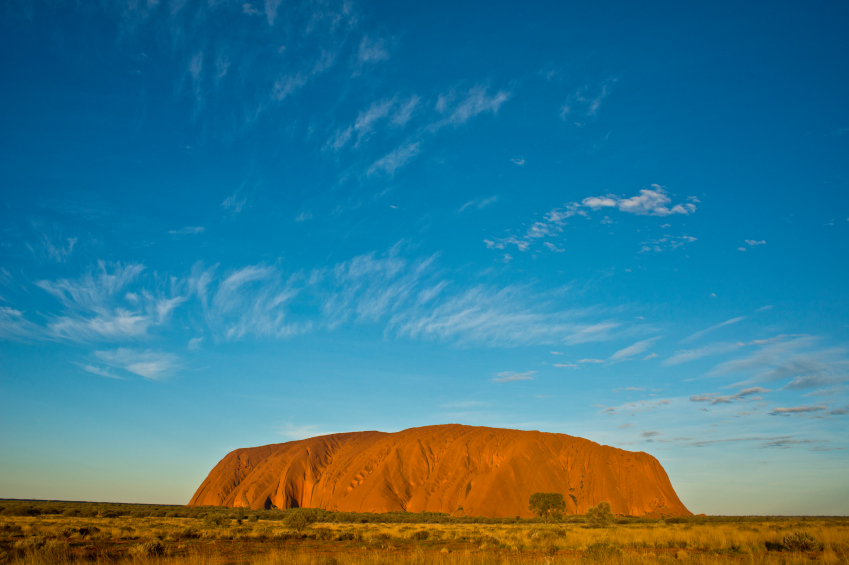 The famous Ayers Rock Photo: iStock