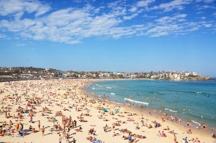 Bondi Beach, the perfect place to go on student travel. Especially if you have a British accent... Photo: iStock