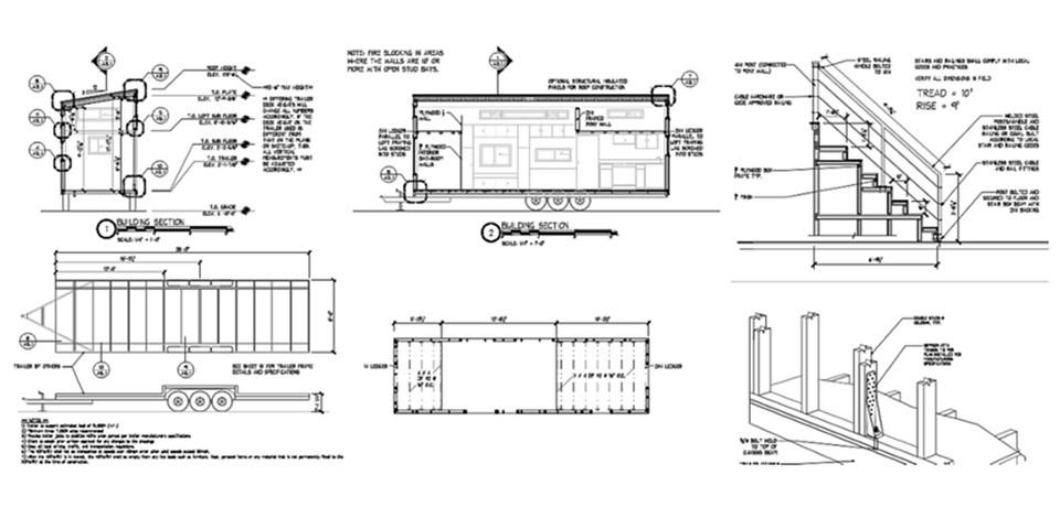Bauplane Fur Ein Mobiles Tiny House Im Loftstil