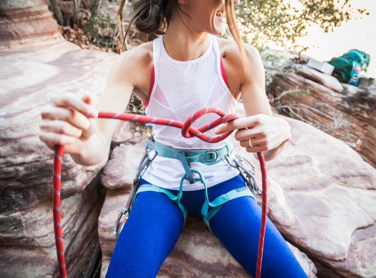 Klettergurt Aus Seil Binden : Climbing basics grundkenntnisse über kletterknote