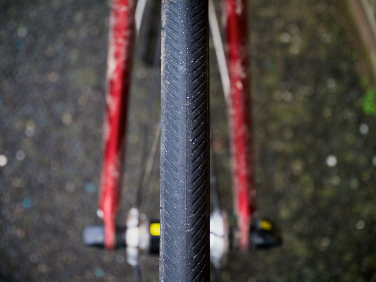 Mavic Ksyrium Elite S - Reifen vorne