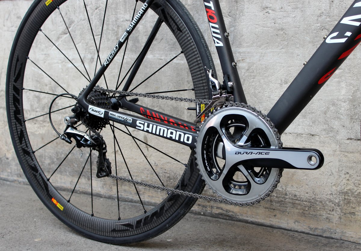 Canyon Ultimate CF SLX Shimano gruppe