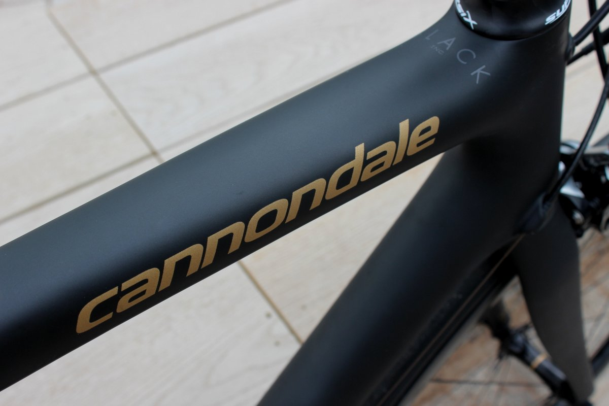 Cannondale SuperSix Evo Nano Black Inc