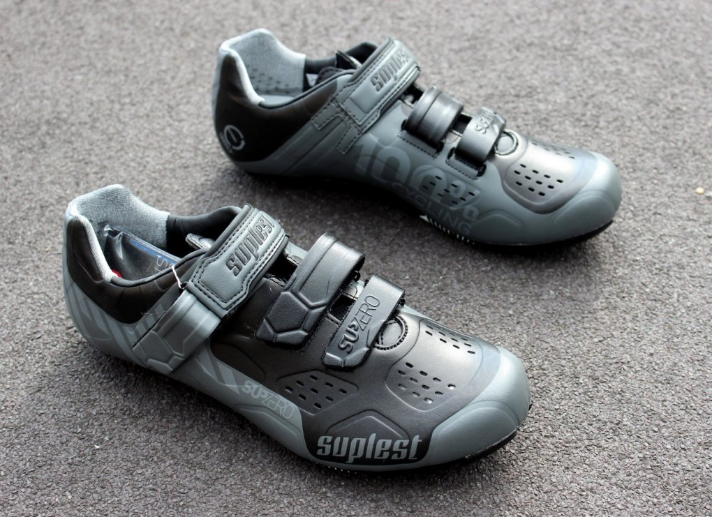 Suplest Street Racing Nylon Velcro cycling shoes (Pic: George Scott/Factory Media)