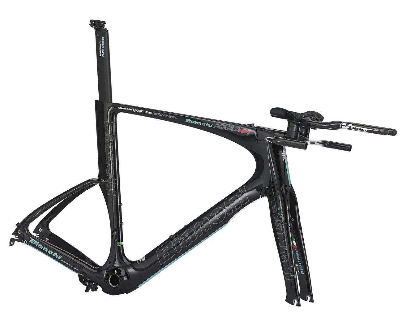 Der Rahmen des Bianchi CV wiegt 1,25kg. (Bianchi)