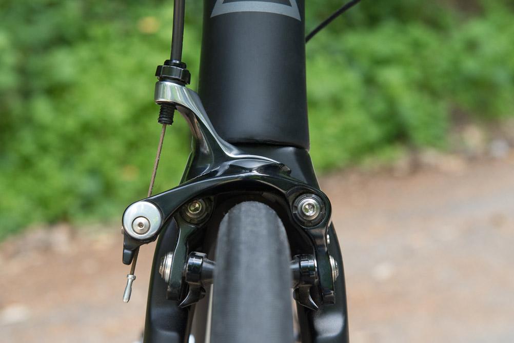 Integrierte Bremsen am Hinterbau mit Direct-Mount