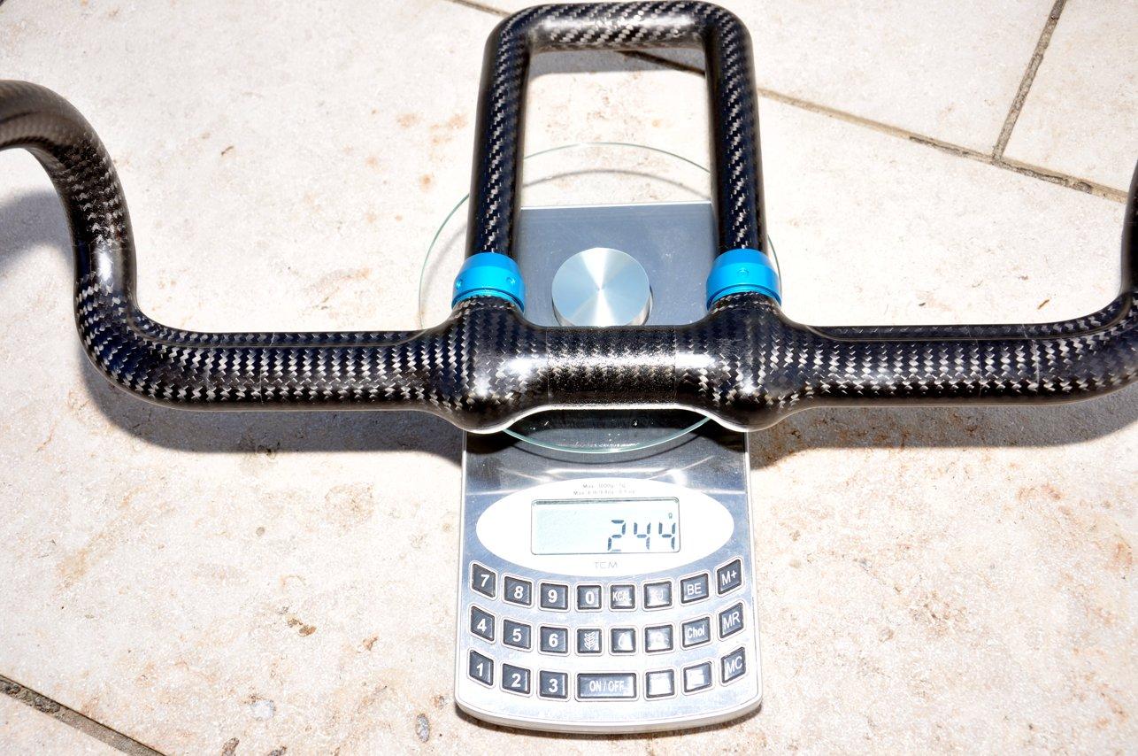 244 Gramm wiegt das komplette System aus Lenker und U-Extension.