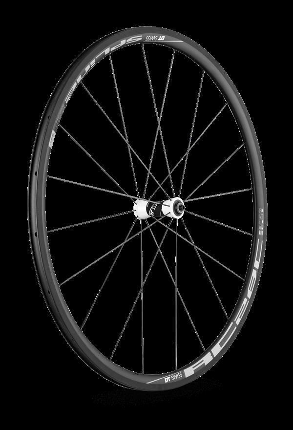 DT Swiss RC28 Spline C-Laufradsatz: Vorderrad.