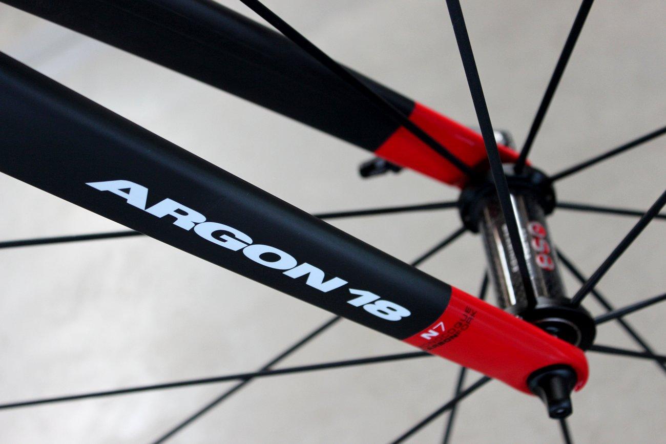 Argon 18s erstes Aero-Bike.