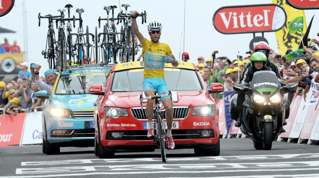 Vincenzo Nibali (Astana) besiegelte seinen Tour de France Sieg 2014 in den Pyrenäen. (Foto: Sirotti)