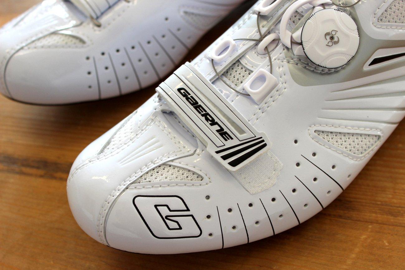 Die Gaerne G.Speed Composite sind gut belüftet.