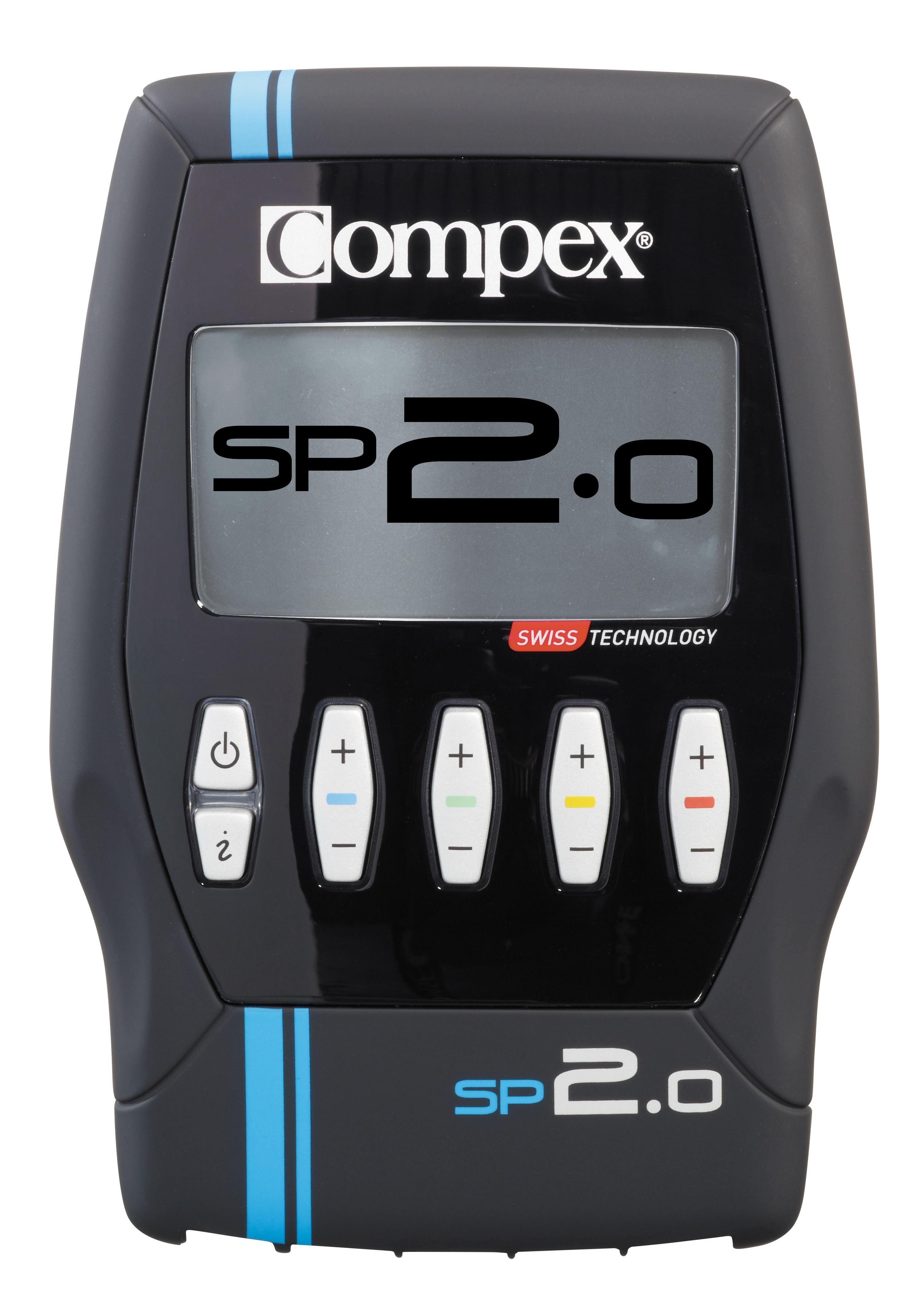 Compex Sport 2.0 zu 399 Euro - 20 Programme aus den 4 Kategorien Konditionsaufbau, Schmerzlinderung, Erholung/Massage und Fitness