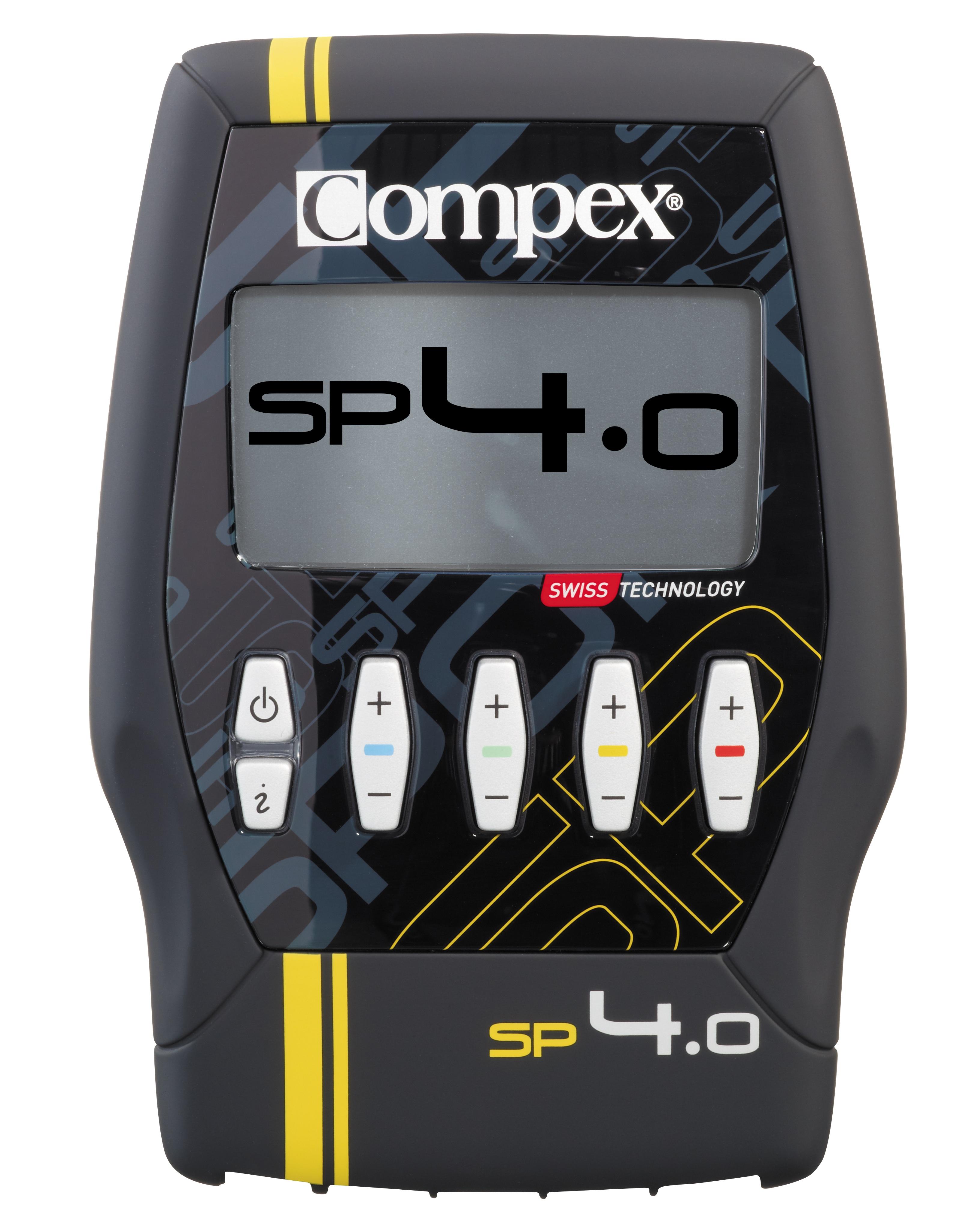 Compex Sport 4.0 zu 599 Euro mit TENS-Programm - Mit 30 Programmen zu den 5 Programmkategorien Konditionsaufbau, Schmerzlinderung, Erholung/Massage, Fitness und Regeneration