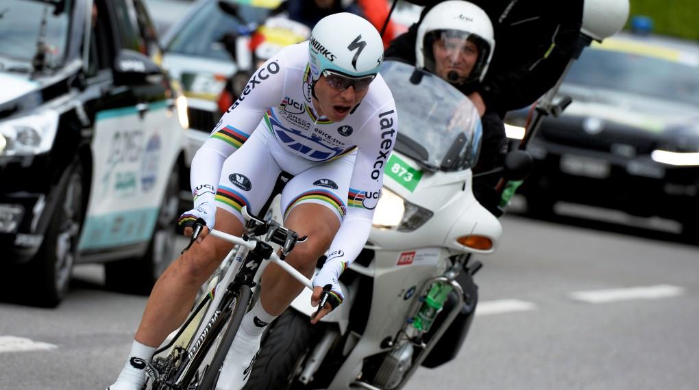 Tony Martin ist einer der stärksten Zeitfahrer des Pelotons.