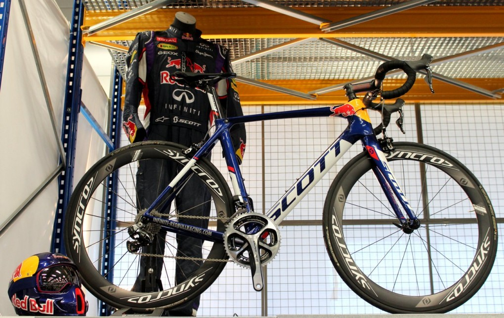 Scott 2015 Addict, Foil und CR1