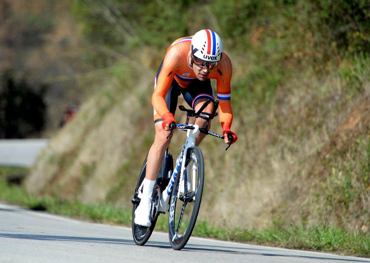 Tom Dumoulin aus den Niederlanden wurde dritter.