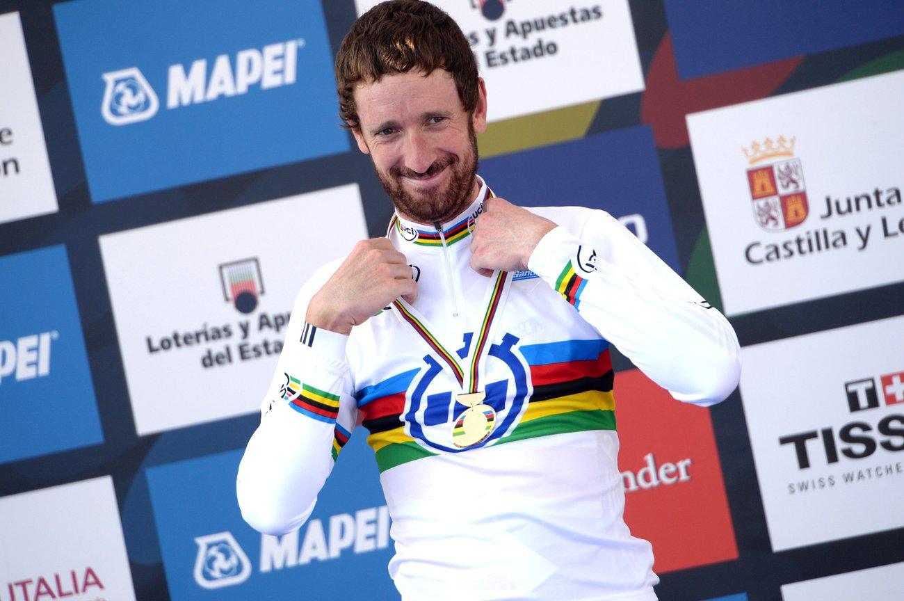 Wiggins ist Zeitfahrweltmeister.