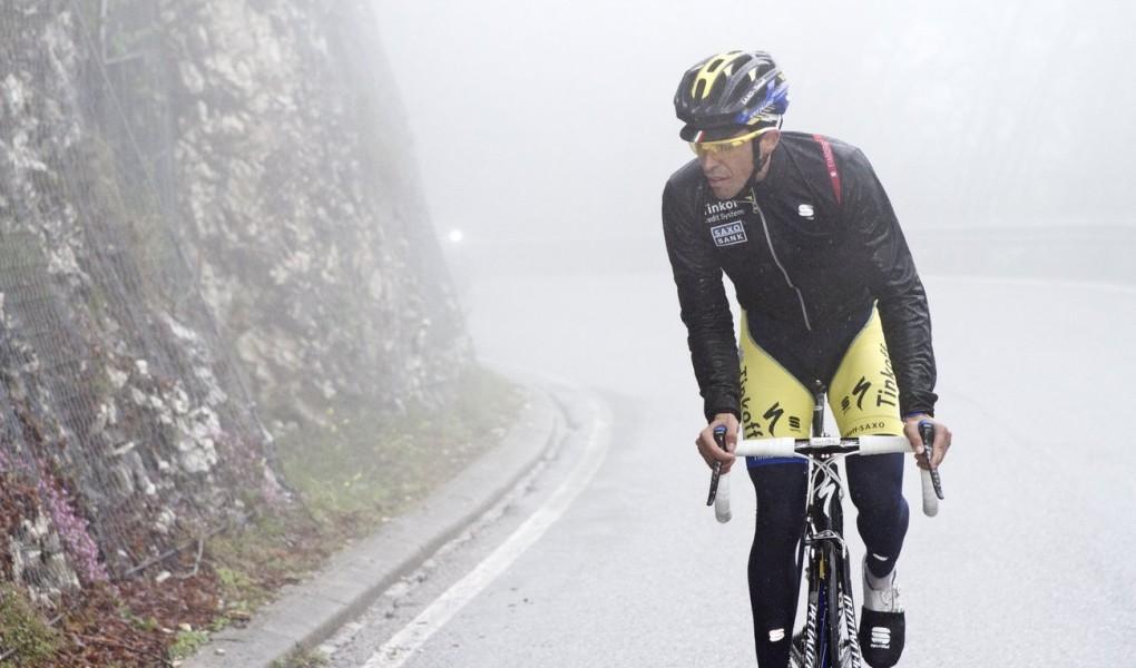 Die Sportful Fiandre Light WS Jacke wurde in Zusammenarbeit mit Alberto Contador's Tinkoff-Saxo-Team entwickelt.