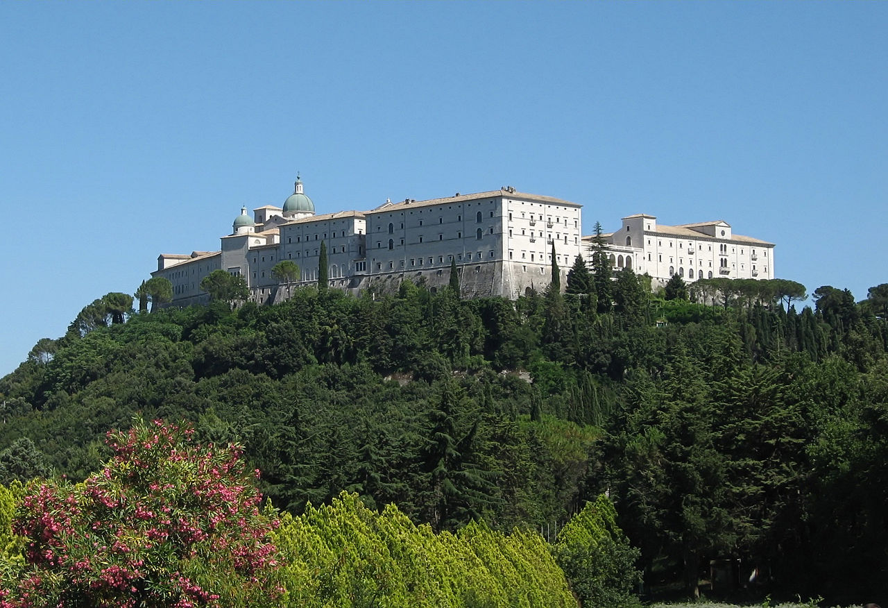 Monte Cassino (Foto: Creative Commons Ludmiła Pilecka@deWikipedia)