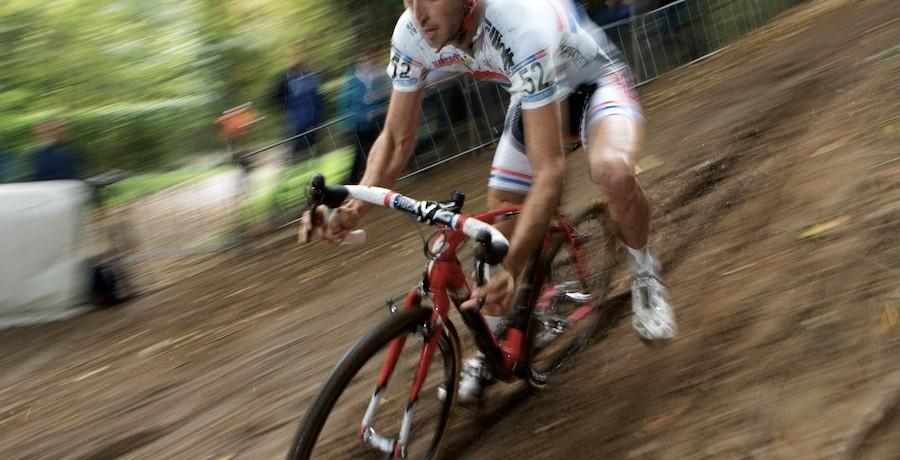 Ian Fields Cyclo-Cross-Training ist darauf ausgelegt, dass zu replizieren, was er in einem Rennen machen würde. (Foto: Balint Hamvas)