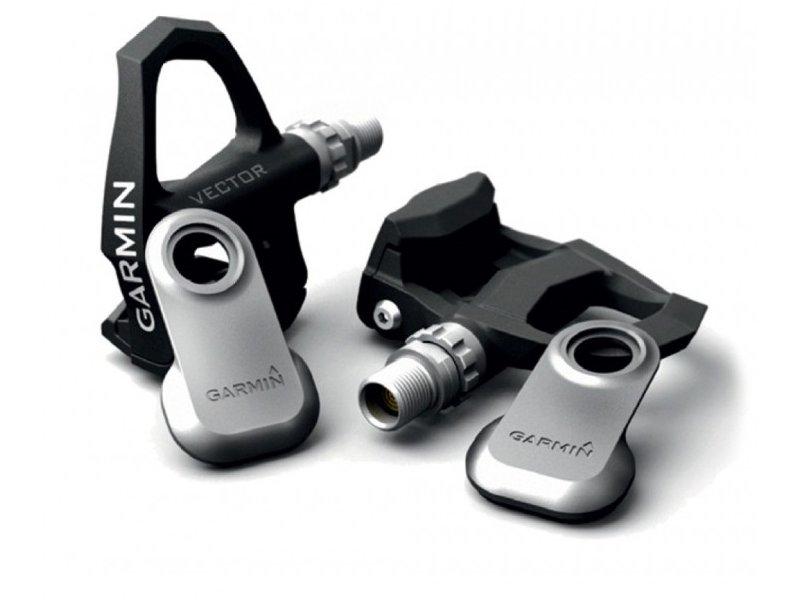 Garmin Vector - Leistungsmessung per Pedal. Pedale und Sender wiegen zusammen 350g. Der Preis liegt aktuell bei etwa 1200 Euro.
