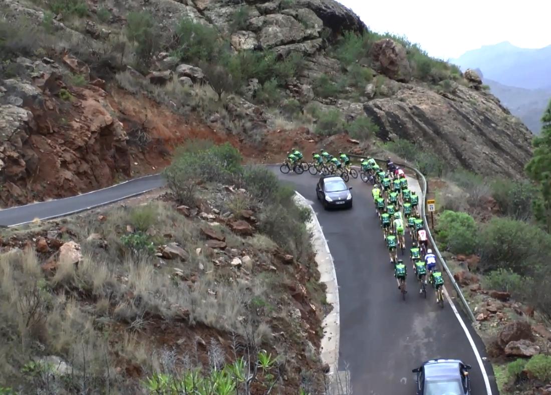 Tinkoff-Saxo auf Gran Canaria.