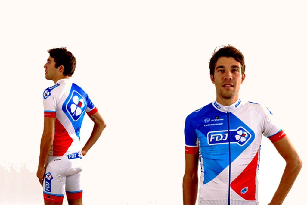 Auch die Kombi vom Team FDJ.fr ist eher langweilig und dürfte somit nicht auf allzu großes Lob stoßen. (Foto: FDJ.fr Cycling Team)
