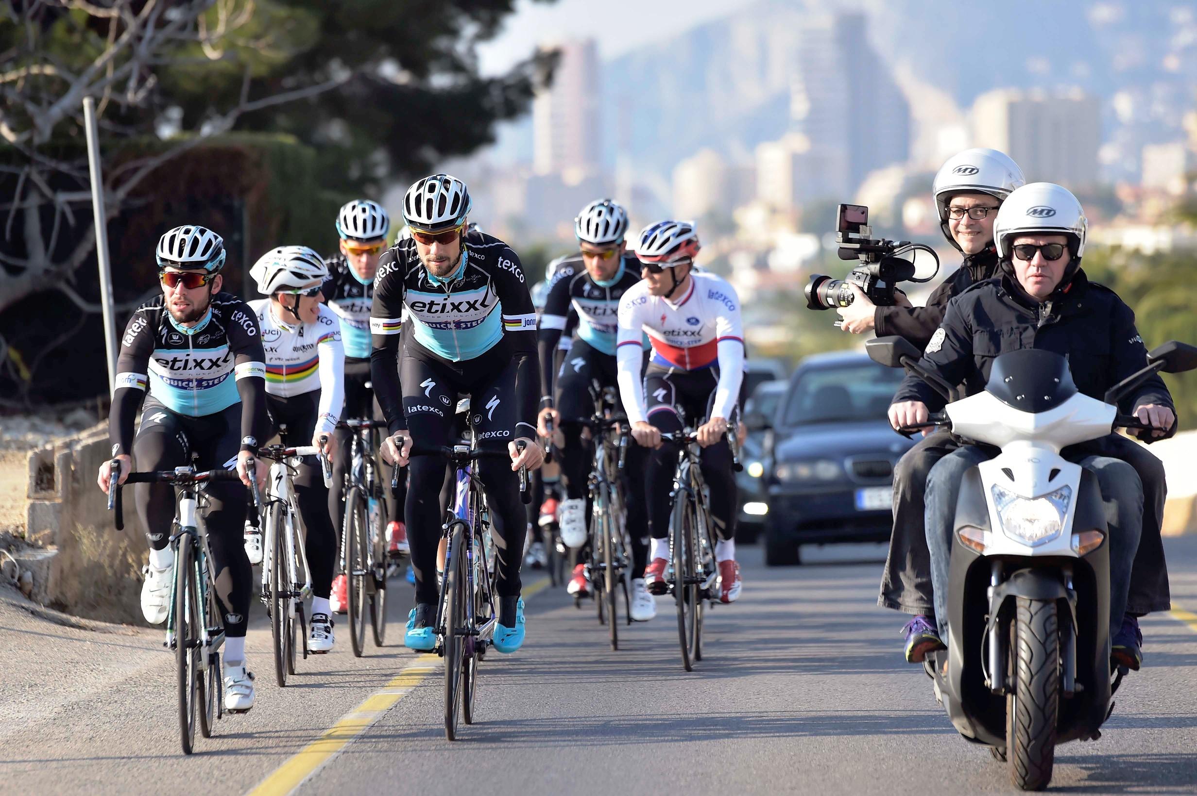 Mark Cavendish hofft in der kommenden Saison viele Sprintsiege einfahren zu können. (Foto: Etixx-Quickstep/Tim de Waele)