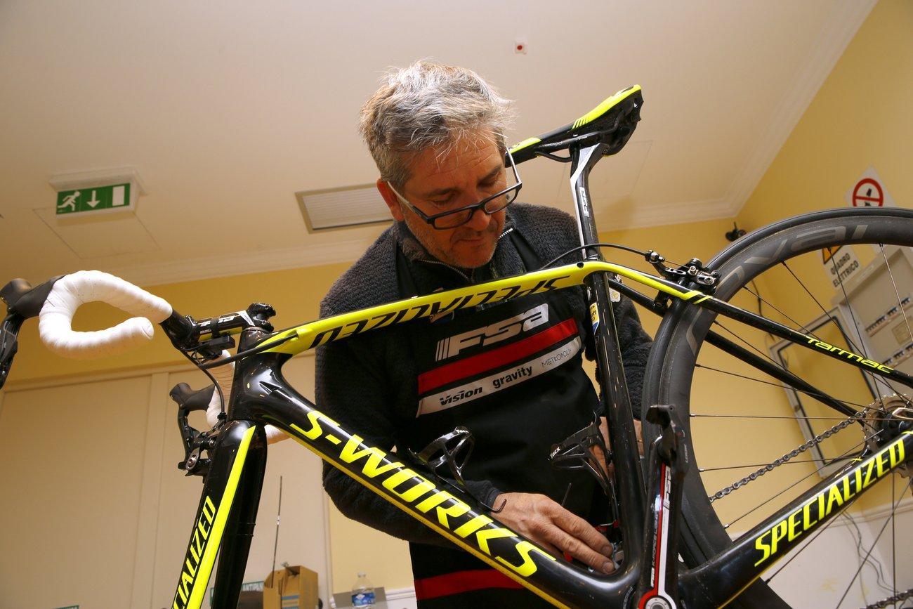 Neben einem neuen Anstrich kommt die Gruppe der Specialized-Bikes nicht mehr von Sram, sondern von Shimano. (Foto: Luca Bettini)