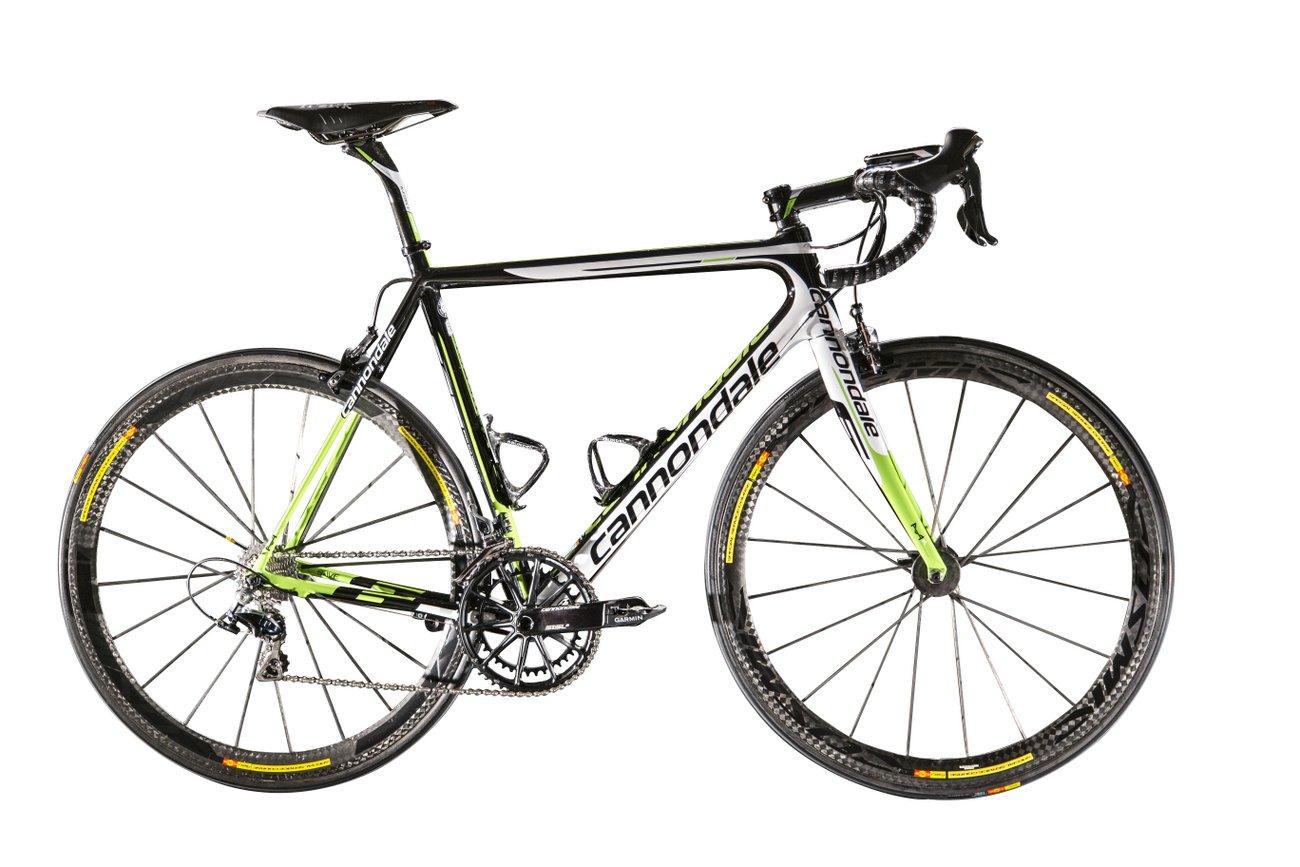 Pro-Bikes der WorldTour 2015: Cannondale-Garmin Supe...