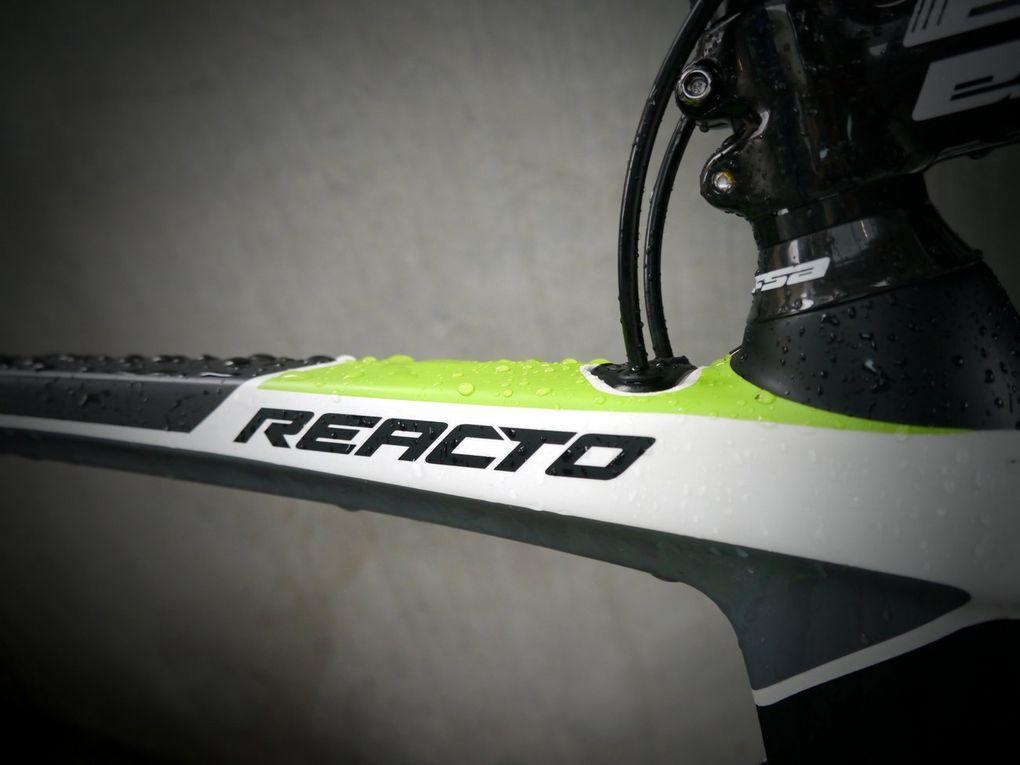 Merida Reacto DA Ltd - innenliegende Kabelführung