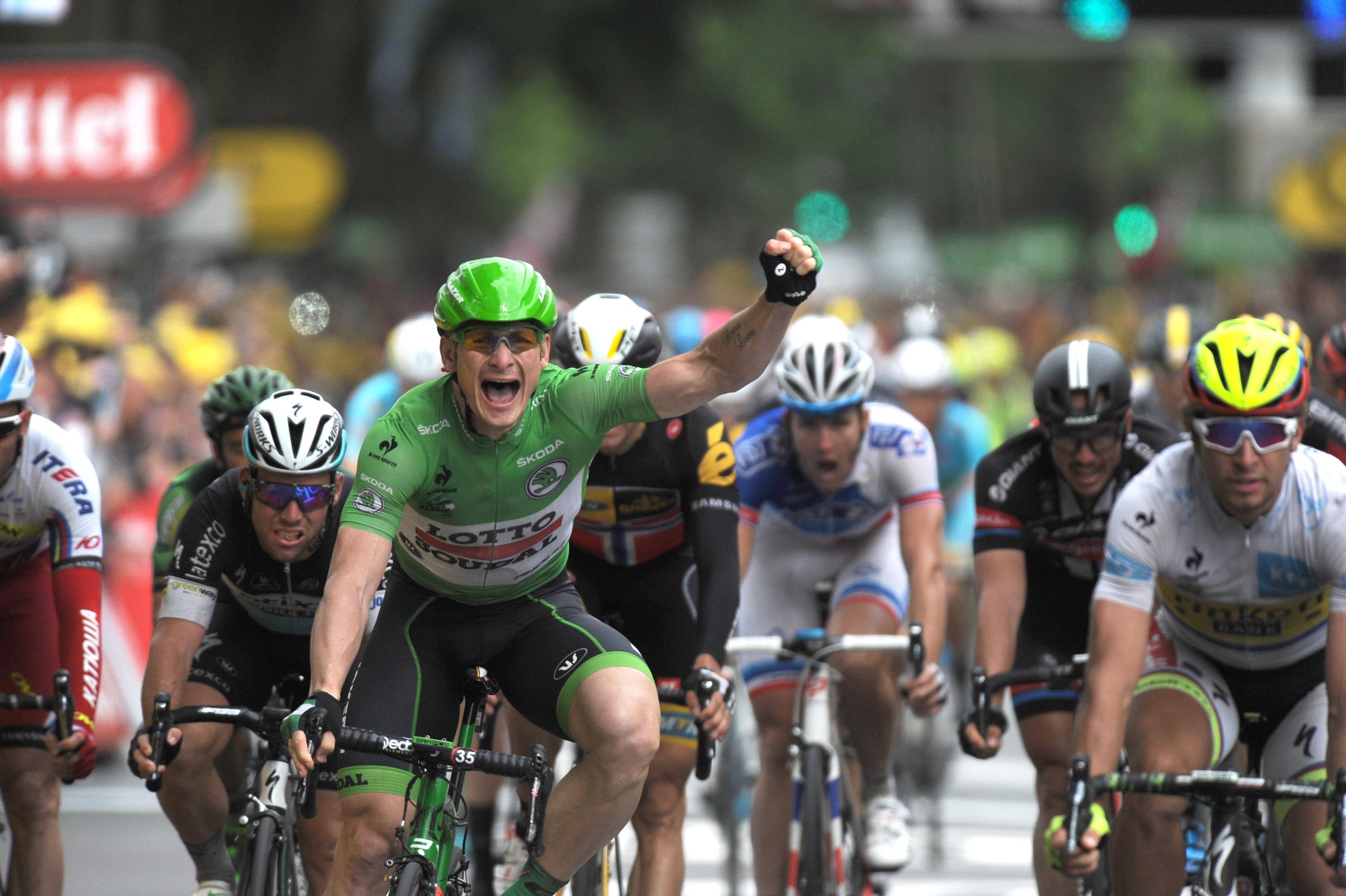Andre Greipel - Tour de France 2015 - 5. Etappe