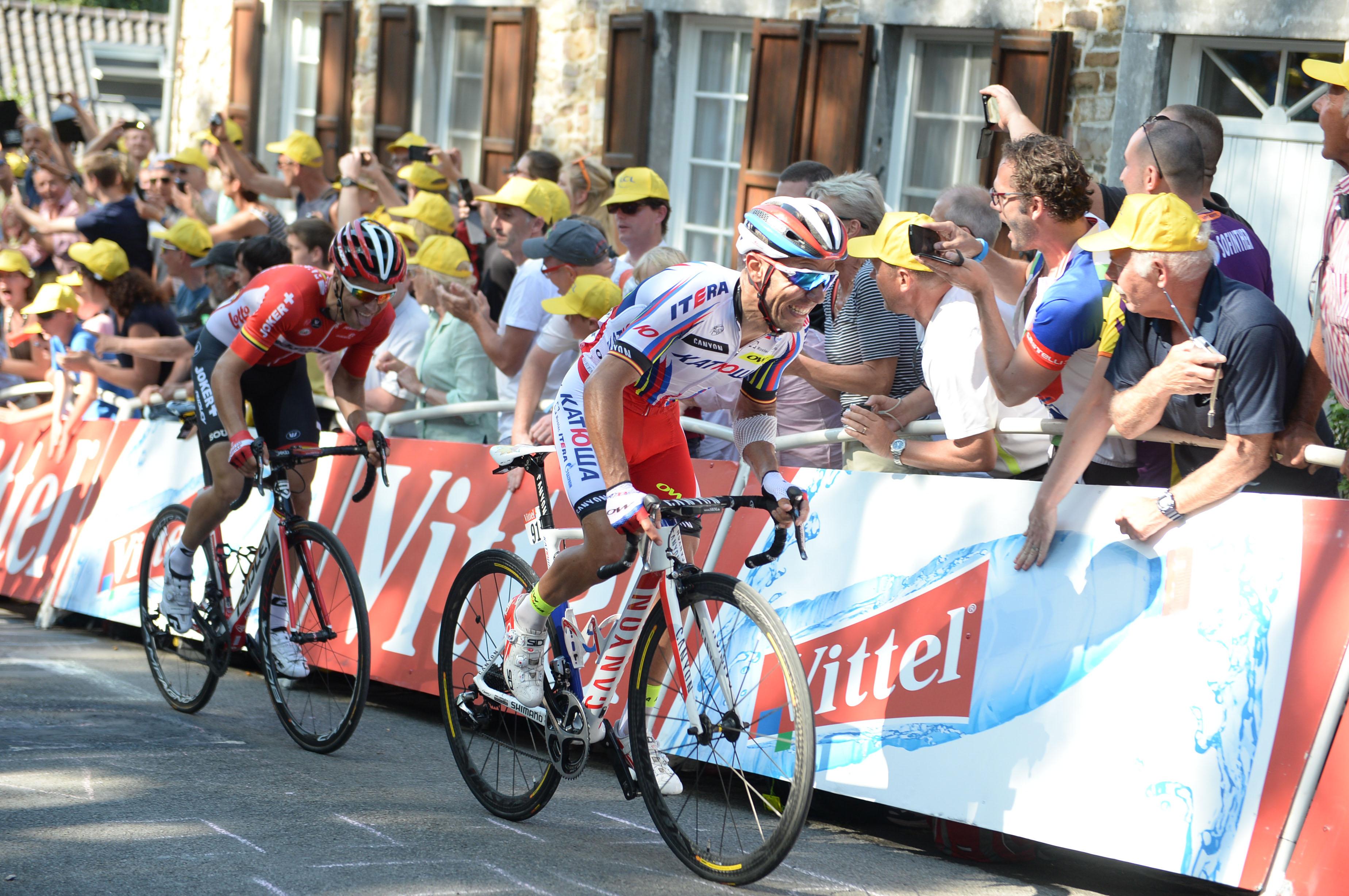 Joaquim Rodriguez gewinnt die 12. Etappe nachdem er bereits die 3. Etappe der Tour de France 2015 gewonnen hat. (pic: Sirotti)