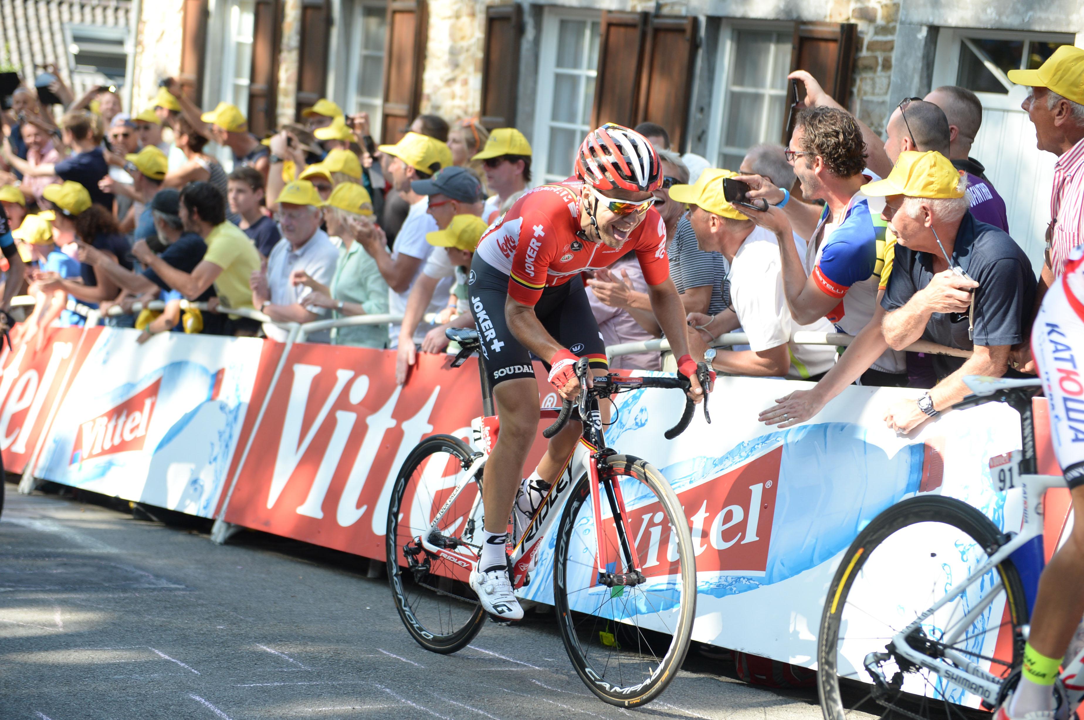 Tony Gallopin - Tour de France 2015. (pic: Sirotti)(