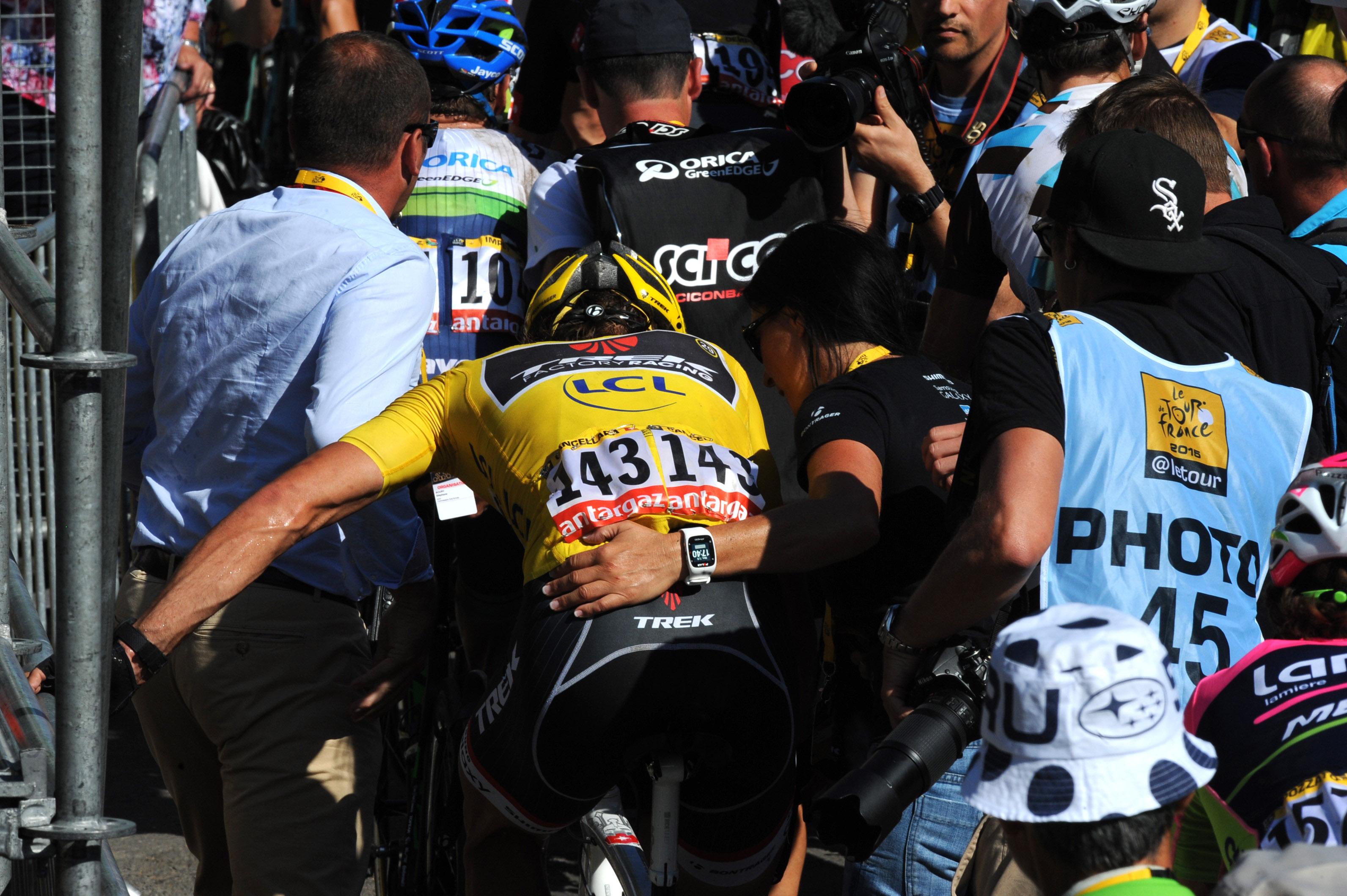 Fabian Cancellara - Tour de France 2015. (pic: Sirotti)