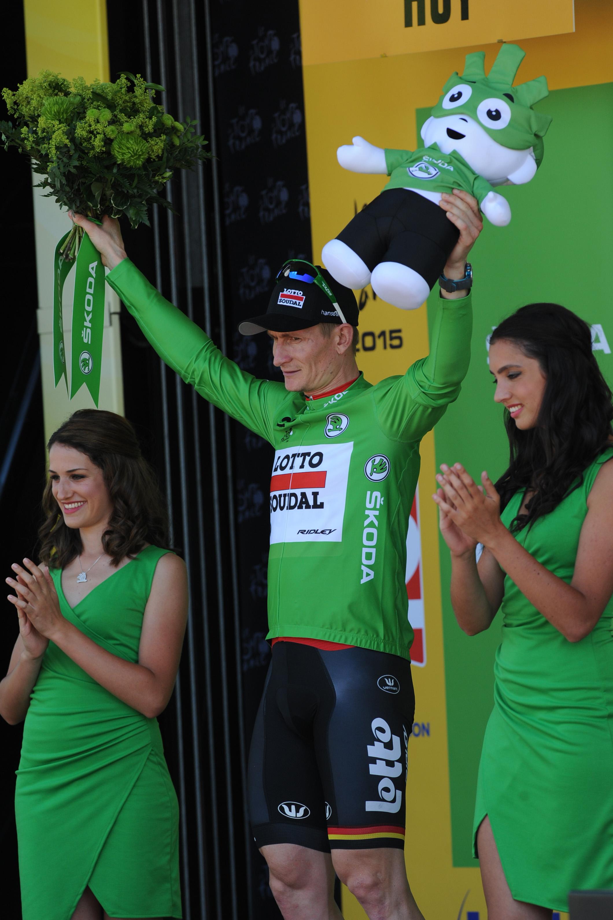 Andre Greipel - Tour de France 2015 - 3. Etappe. (pic: Sirotti)