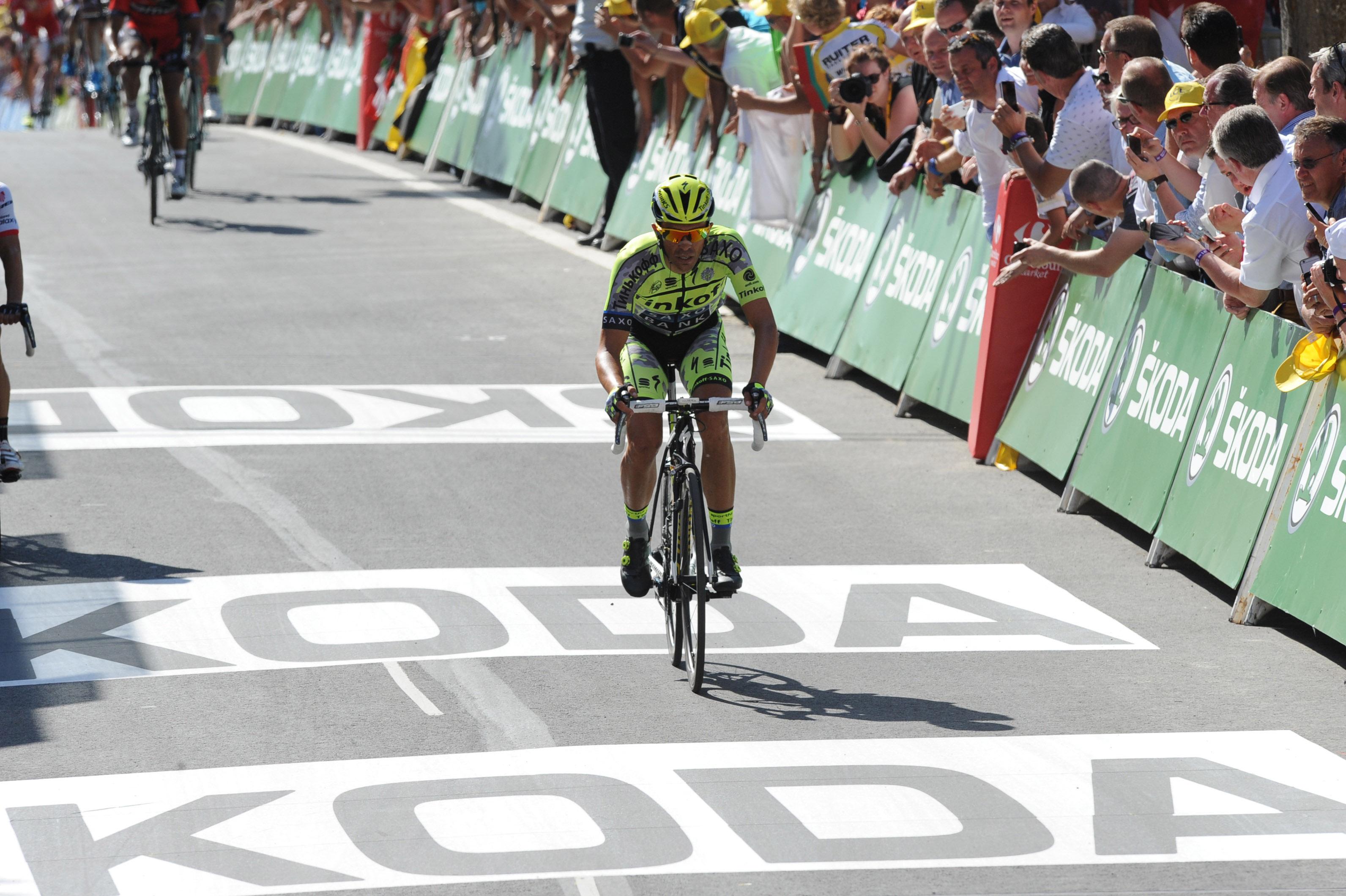 Alberto Contador - Tour de France 2015. (pic: Sirotti)