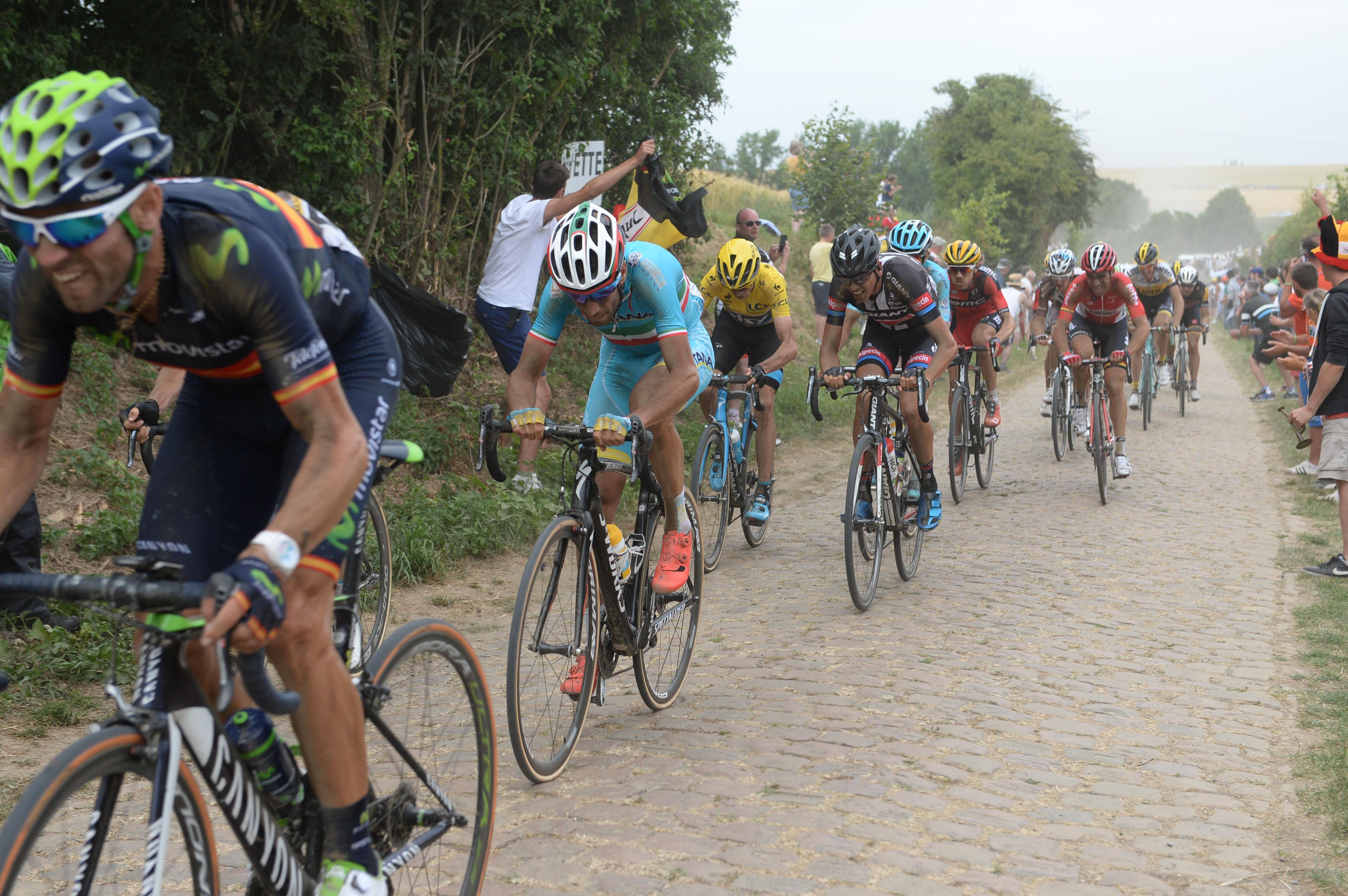 Tolle Leistung von Vincenzo Nibali. (pic: Sirotti)