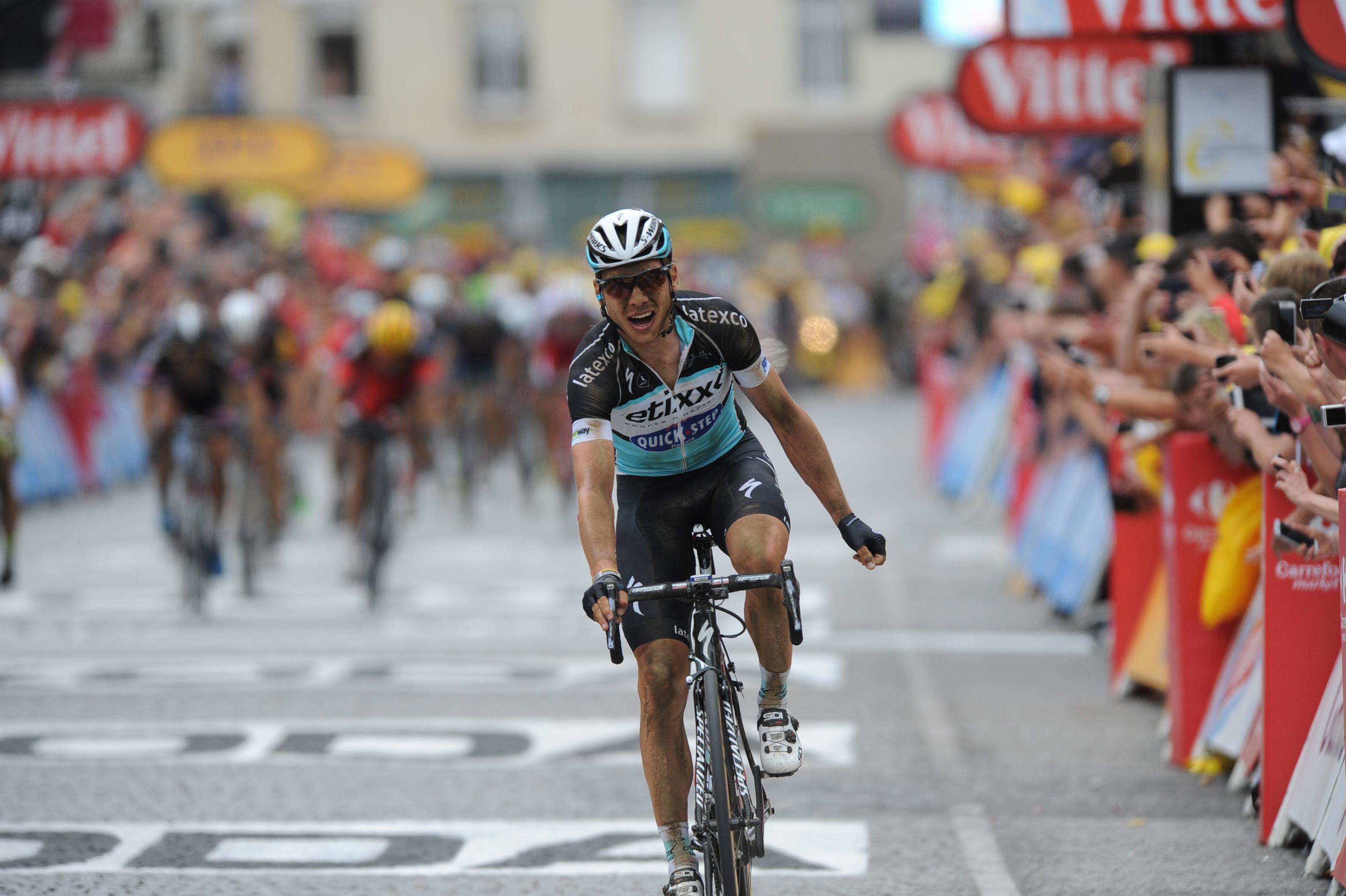 Tony Martin gewinnt die 4. Etappe der Tour de France 2015.