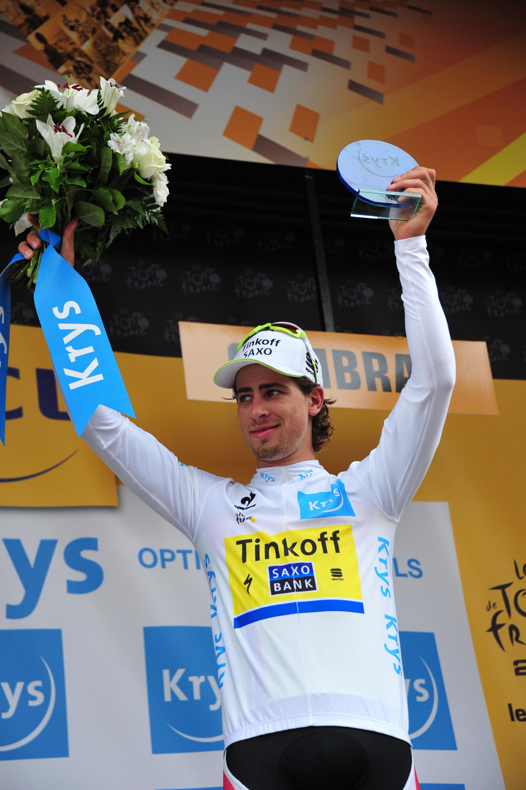 Peter Sagan war Alberto Contadors Motor auf dem schwierigen Gelände. (pic: Sirotti)