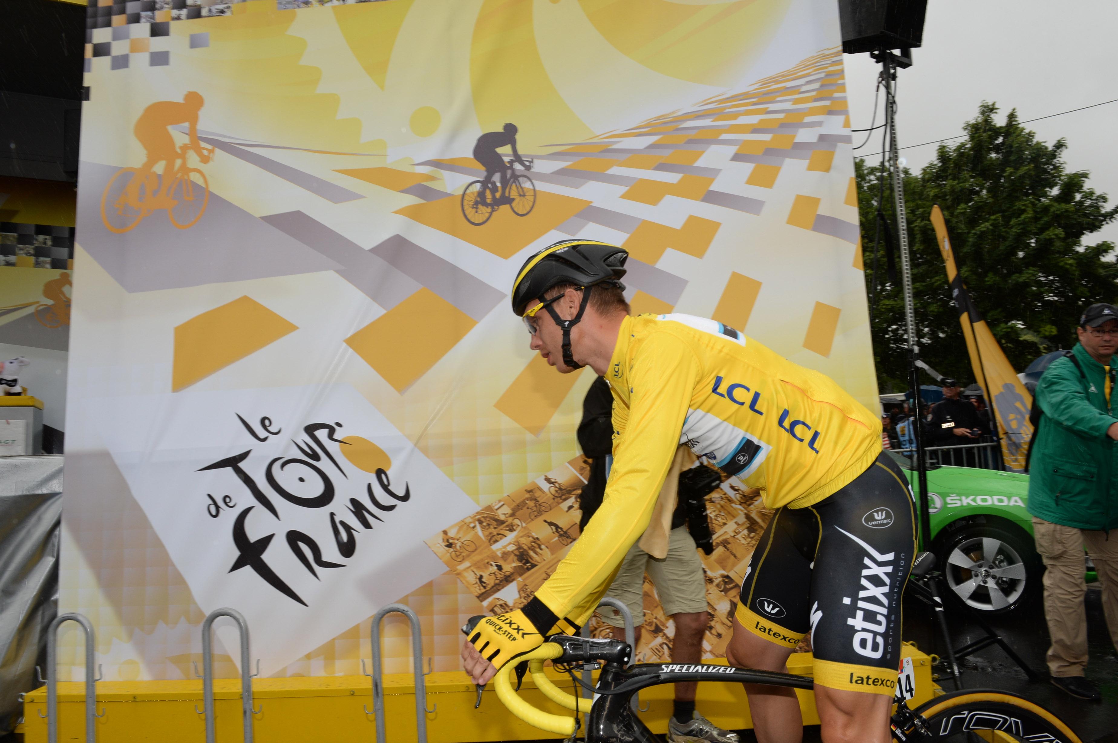 Tony Martin konnte das Gelbe Trikot verteidigen! (pic: Sirotti)
