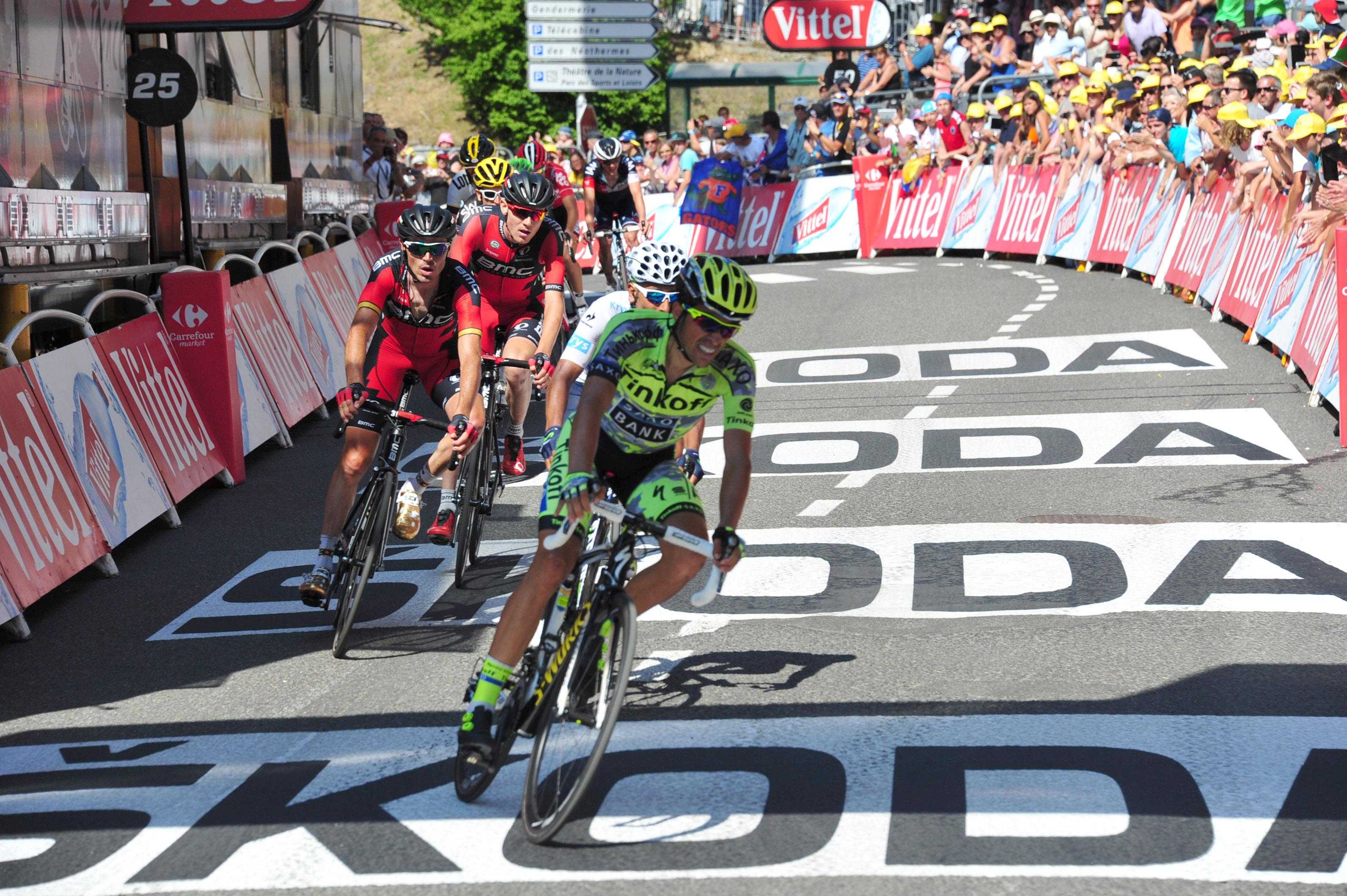 Tour de France 2015 - 11. Etappe - Pyrenäen - Alberto Contador
