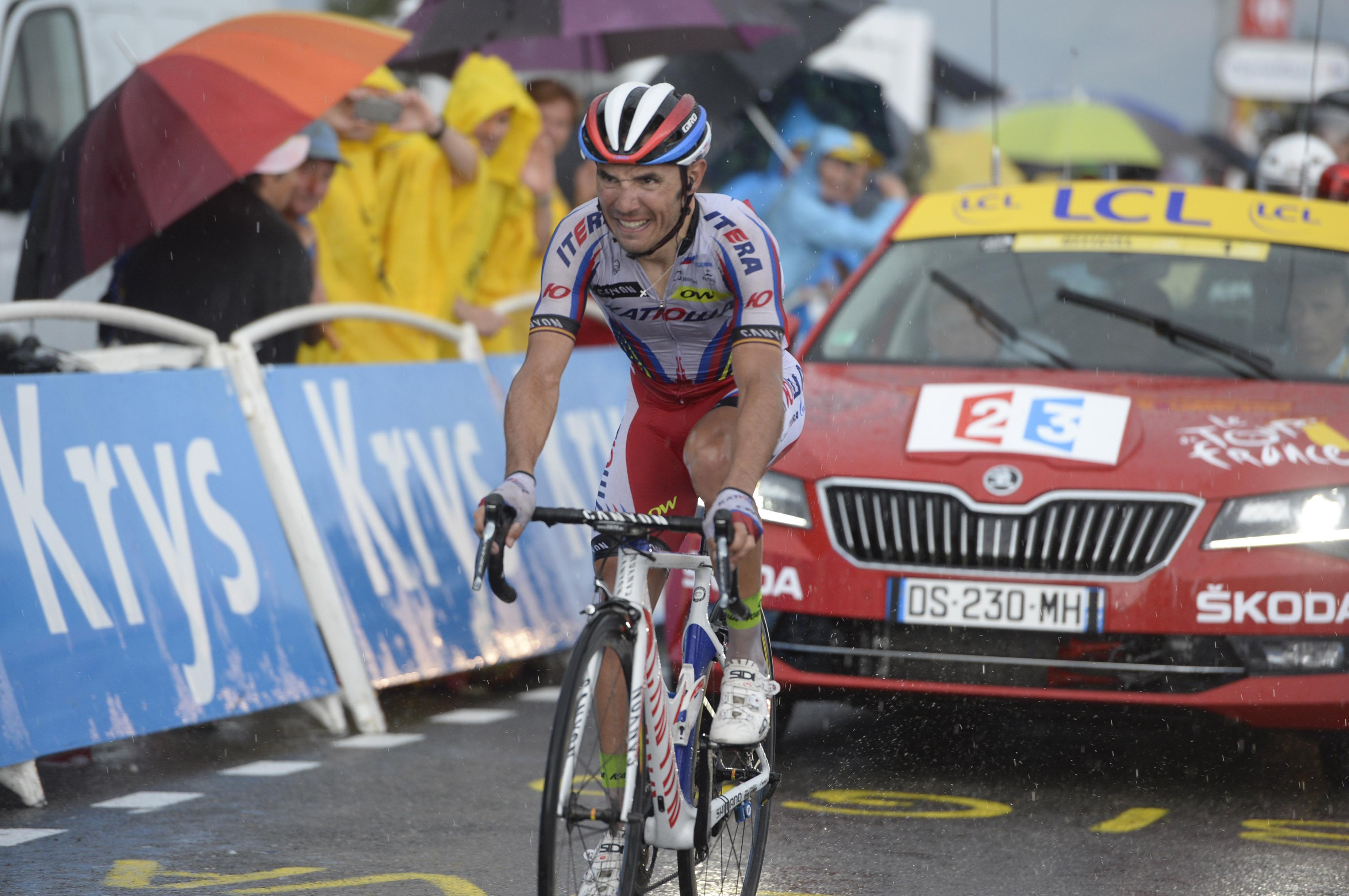 Tour de France 2015 - 12. Etappe - Joaquim Rodriguez gewinnt. (pic: Sirotti)