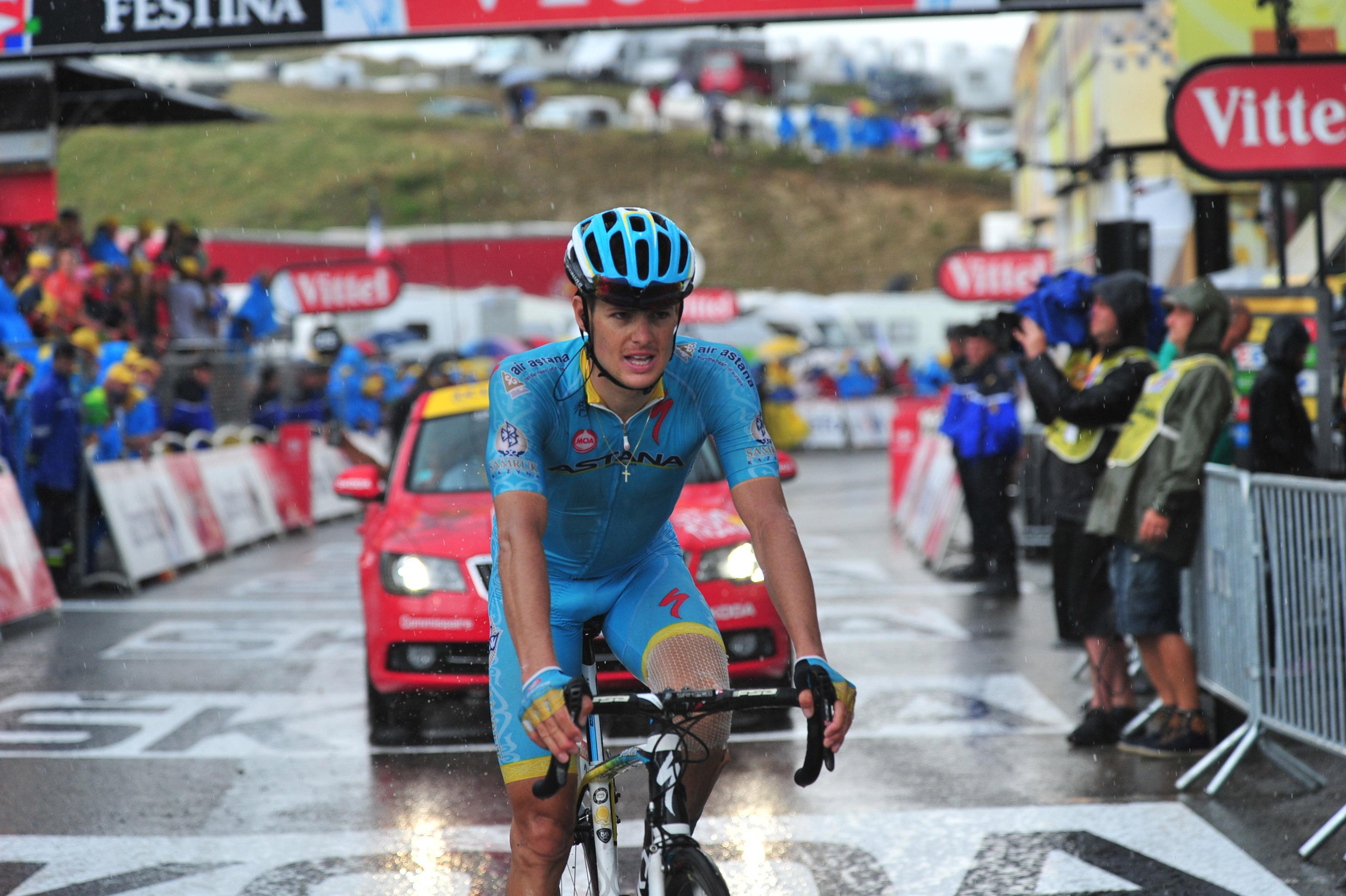Jakob Fuglsang fuhr bei der 12. Etappe der Tour de France 2015 auf den zweiten Platz. Tolle Leistung! (pic: Sirotti)
