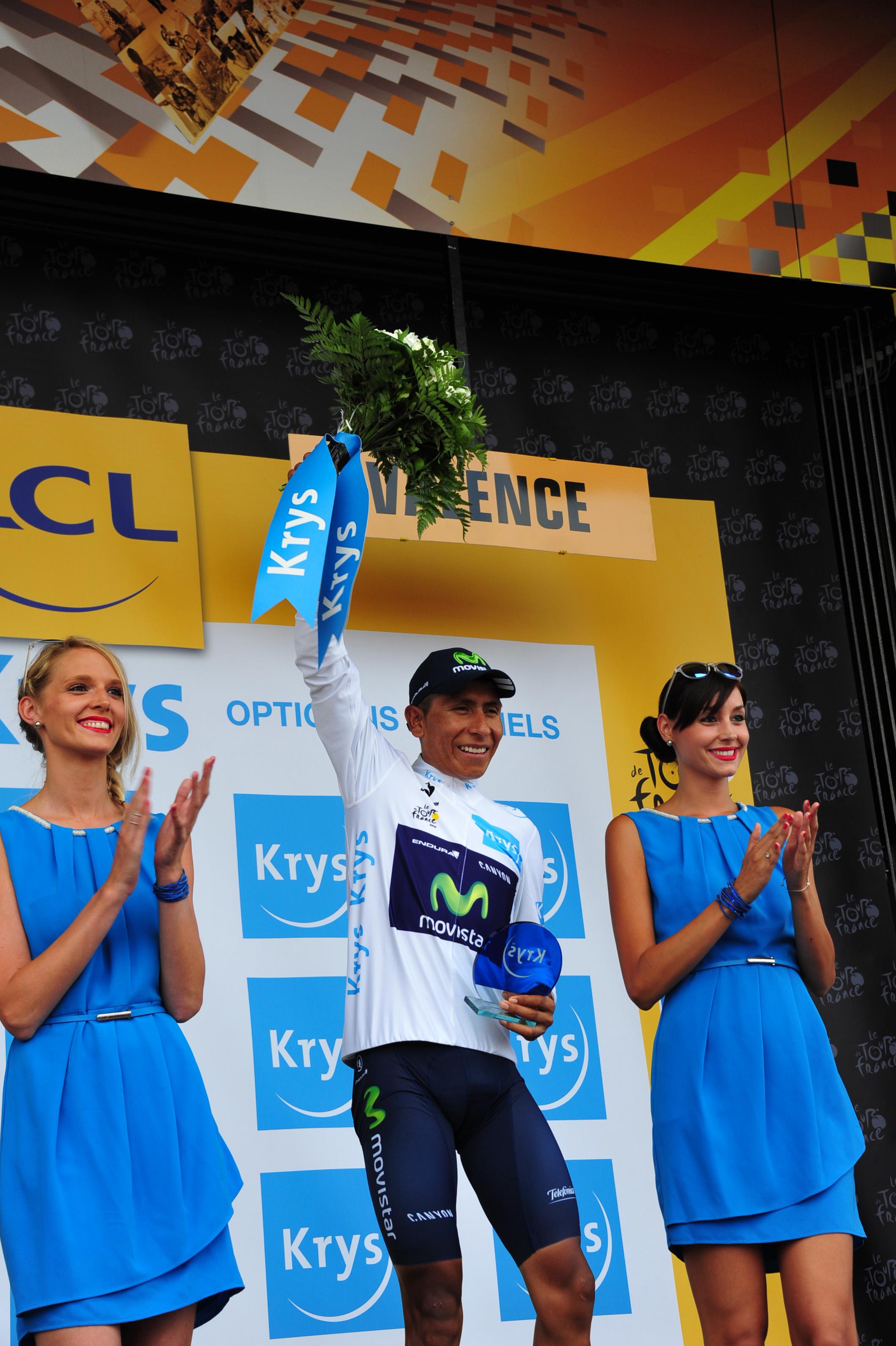 Nairo Quintana muss jetzt Gas geben um noch an Froome heran zu kommen. (pic: Sirotti)