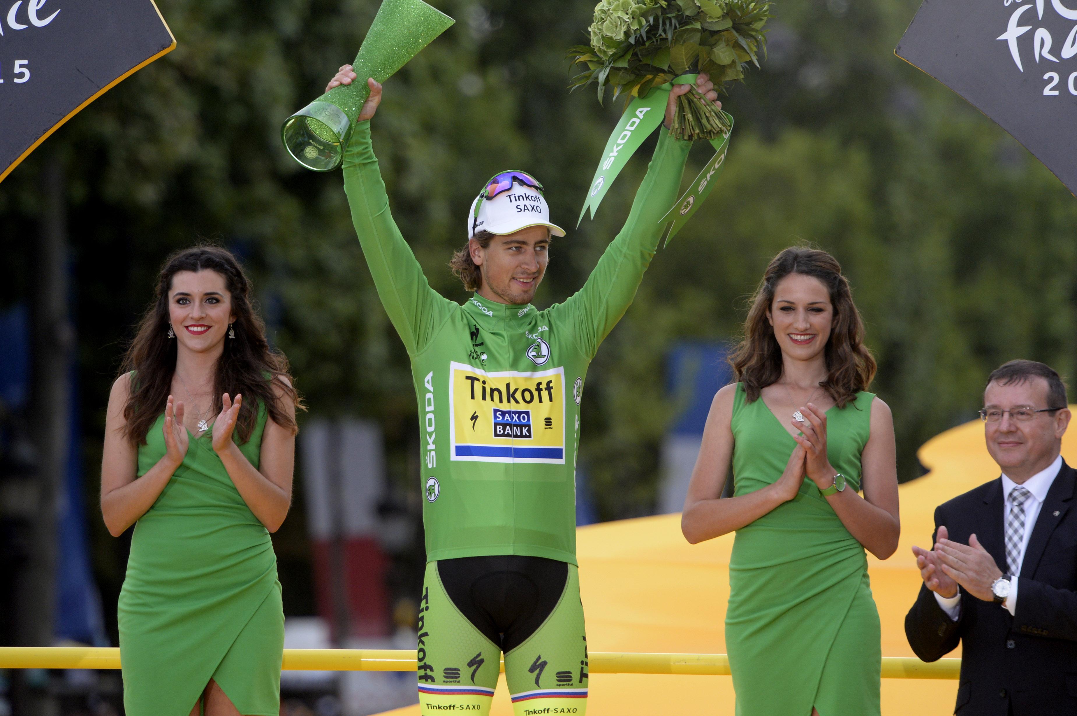 Peter Sagan hat die Sprintwertung der Tour de France 2015 gewonnen. (pic: Sirotti)