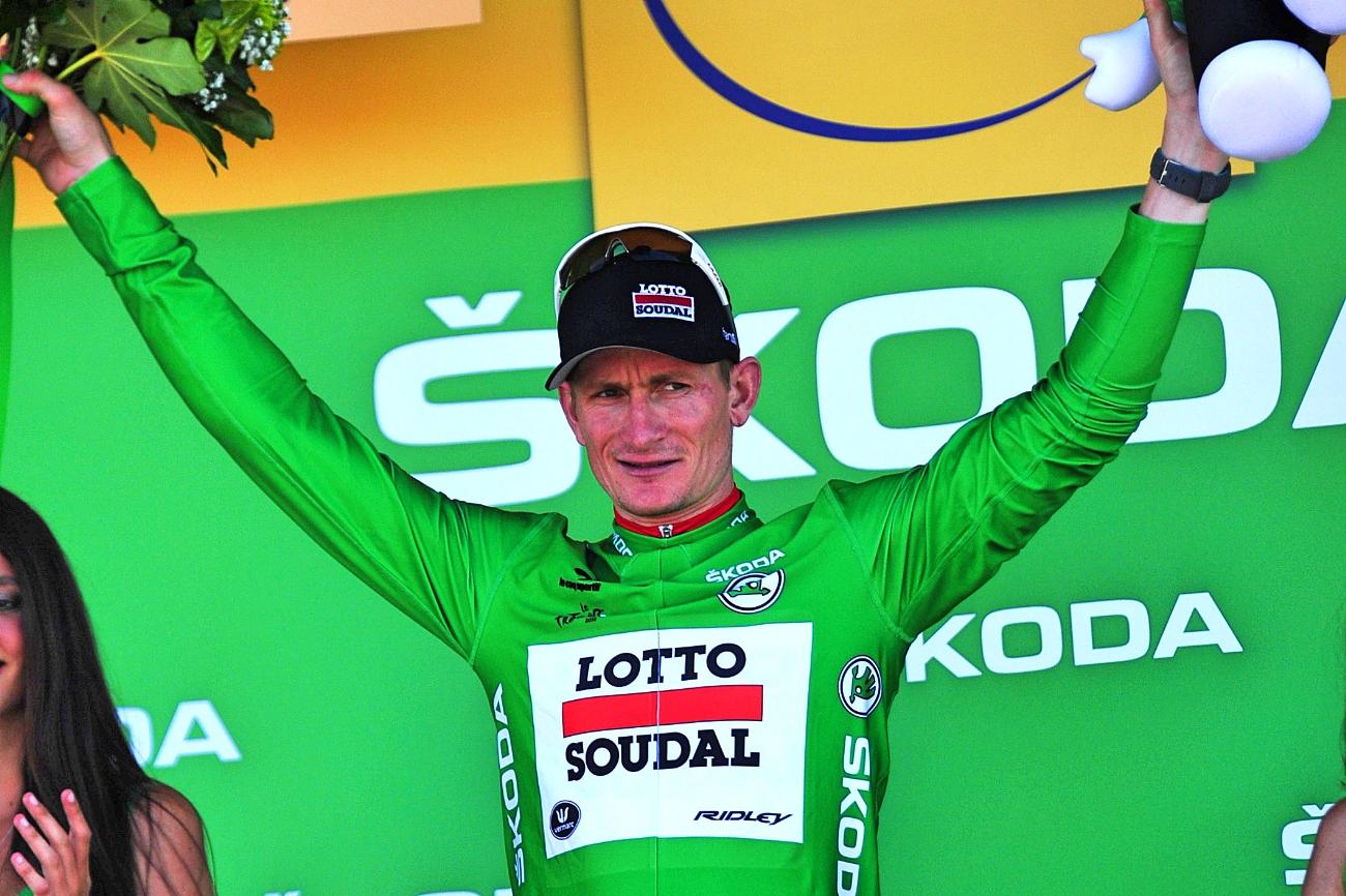 Tour de France 2015 - Andre Greipel erobert sich das Grüne Trikot auf der 10. Etappe zurück. (pic: Sirotti)