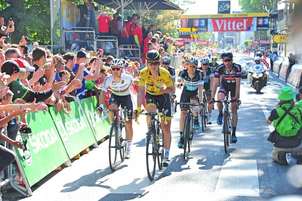 Tony Martin muss die Tour de France 2015 nach einem schweren Sturz abbrechen. (pic: Sirotti)