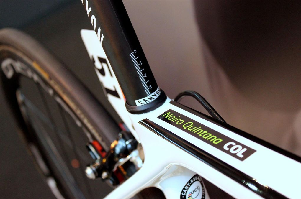 Cycle Show 2015: Nairo Quintanas Canyon Ultimate CF SLX 2016 (Foto: George Scott / Factory Media)