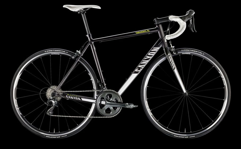 Sortiment 2016: Canyon Endurace AL 5.0 (Foto: Canyon)